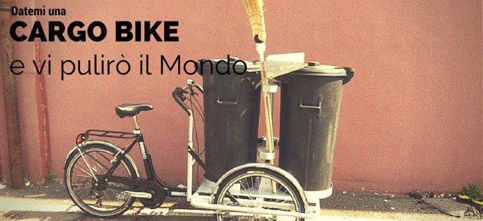 cargo bike nettezza urbana