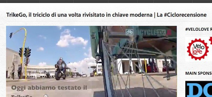 Cargo Bike video recensione