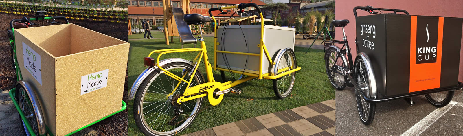 TrikeGo Cargobike- I materiali fanno la differenza