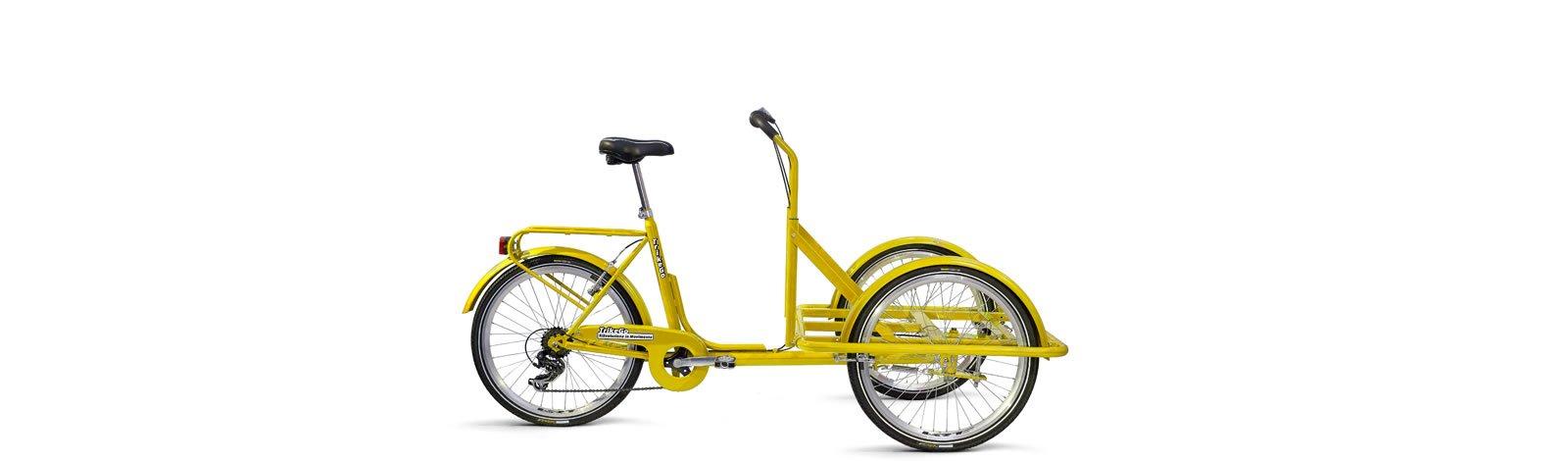 TrikeGo Cargobike- solo telaio - giallo