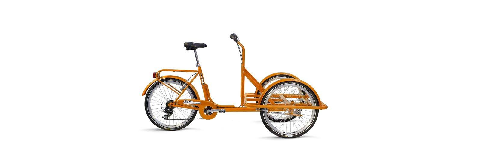 TrikeGo Cargobike- solo telaio - arancione