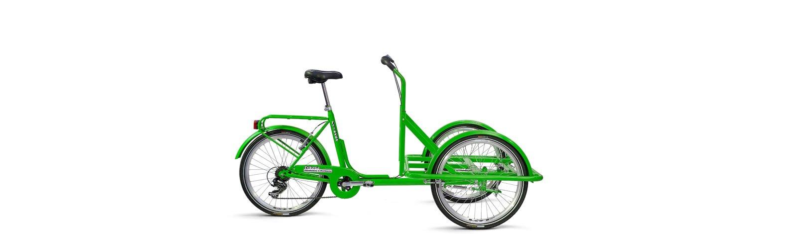 TrikeGo Cargobike- solo telaio - verde