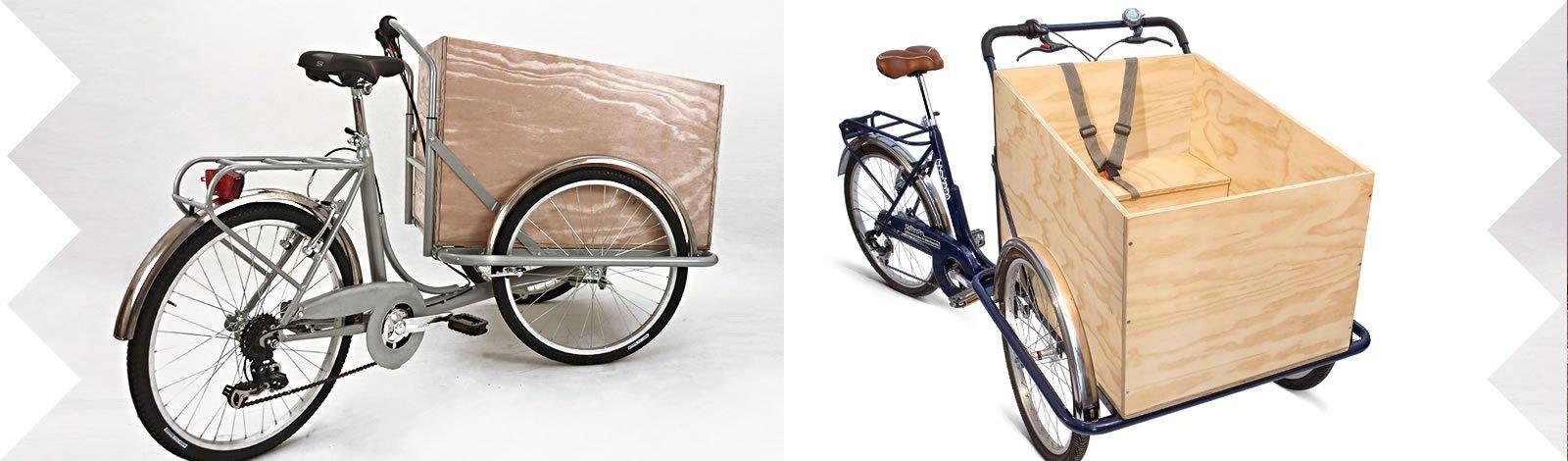 TrikeGo Cargobike- Evoluzione della Cargobike