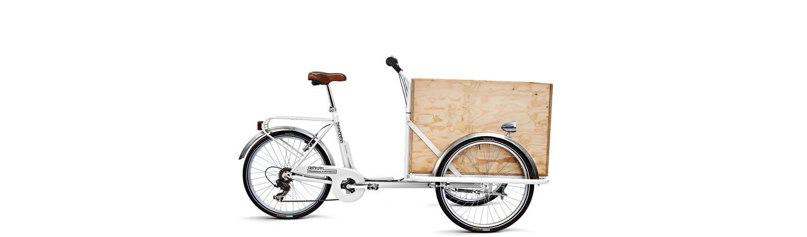 TrikeGo Cargobike- cassone - bianco