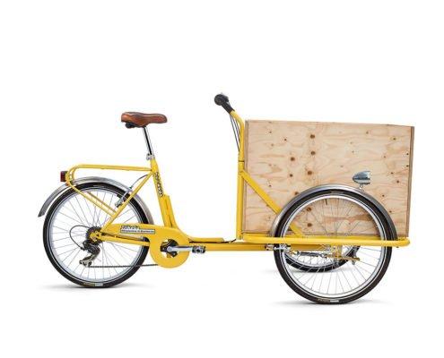 Cargobike con Cassone
