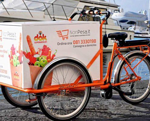 Cargo bike Consegne a Domicilio