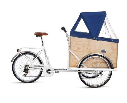 Cargobike per Trasporto Persone con Cappottina