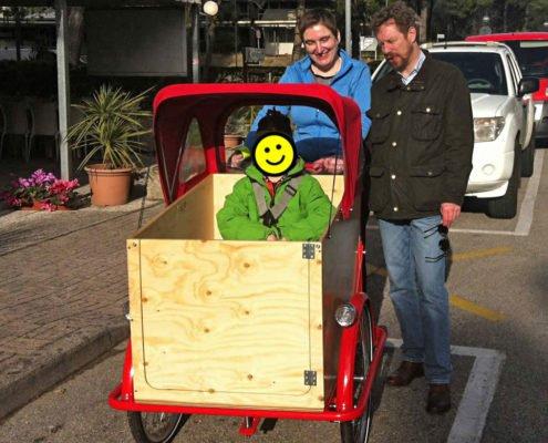 Cargobike Personalizzata Trasporto Bambini