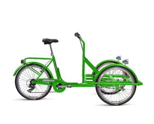 Cargobike colore verde