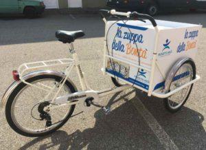 bici cargo per eventi