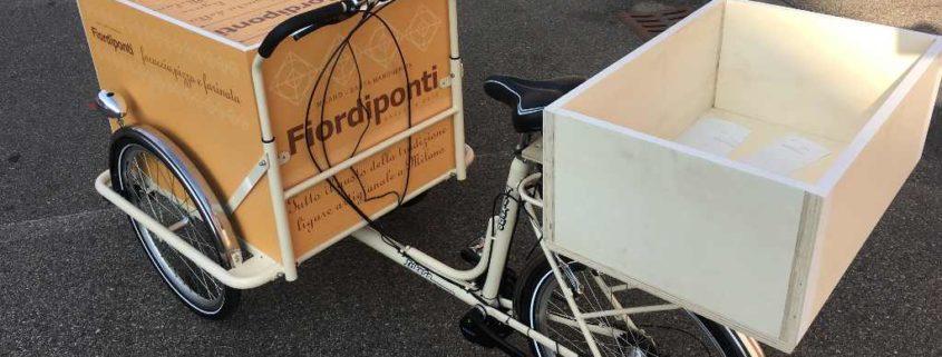 cargo bike per consegne