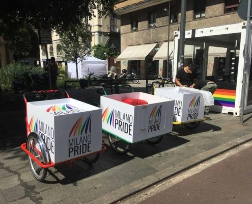 Trikego al Milano Pride 2018