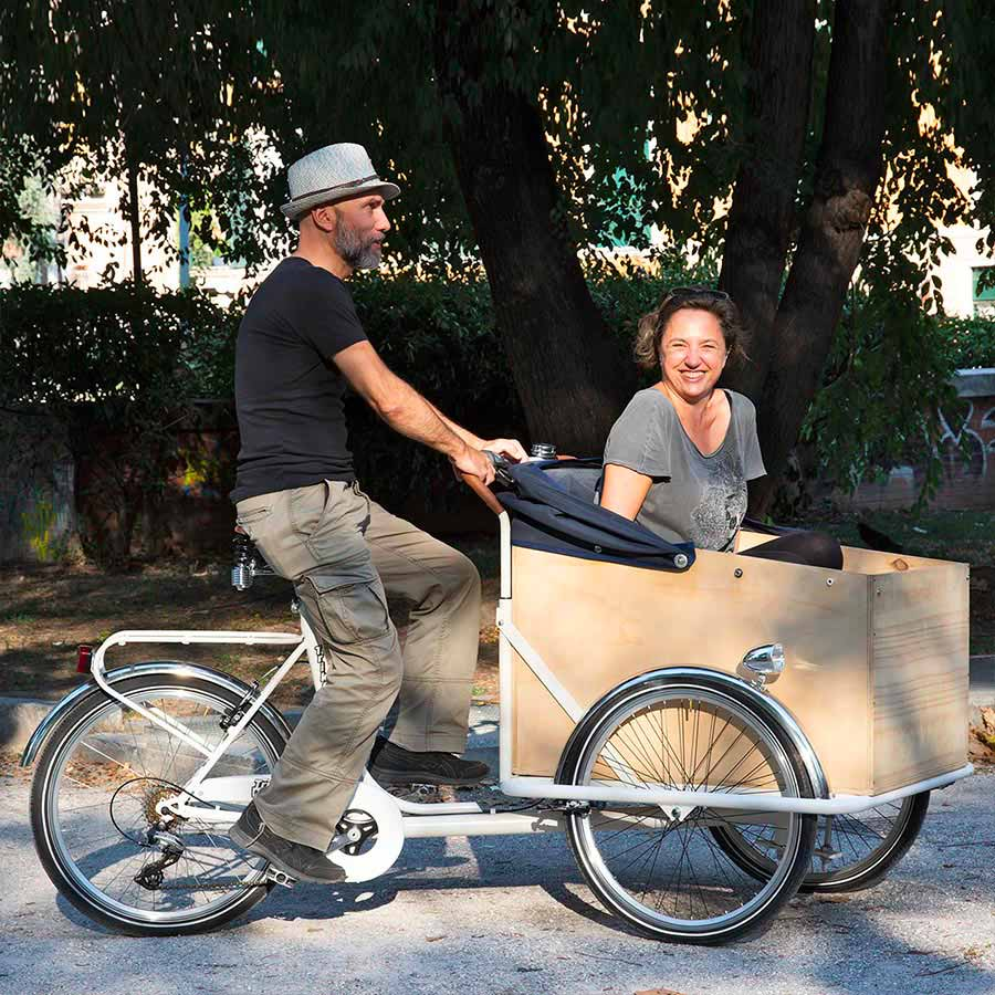 Cargo Bike TrikeGo Amici Coppie Innamorati