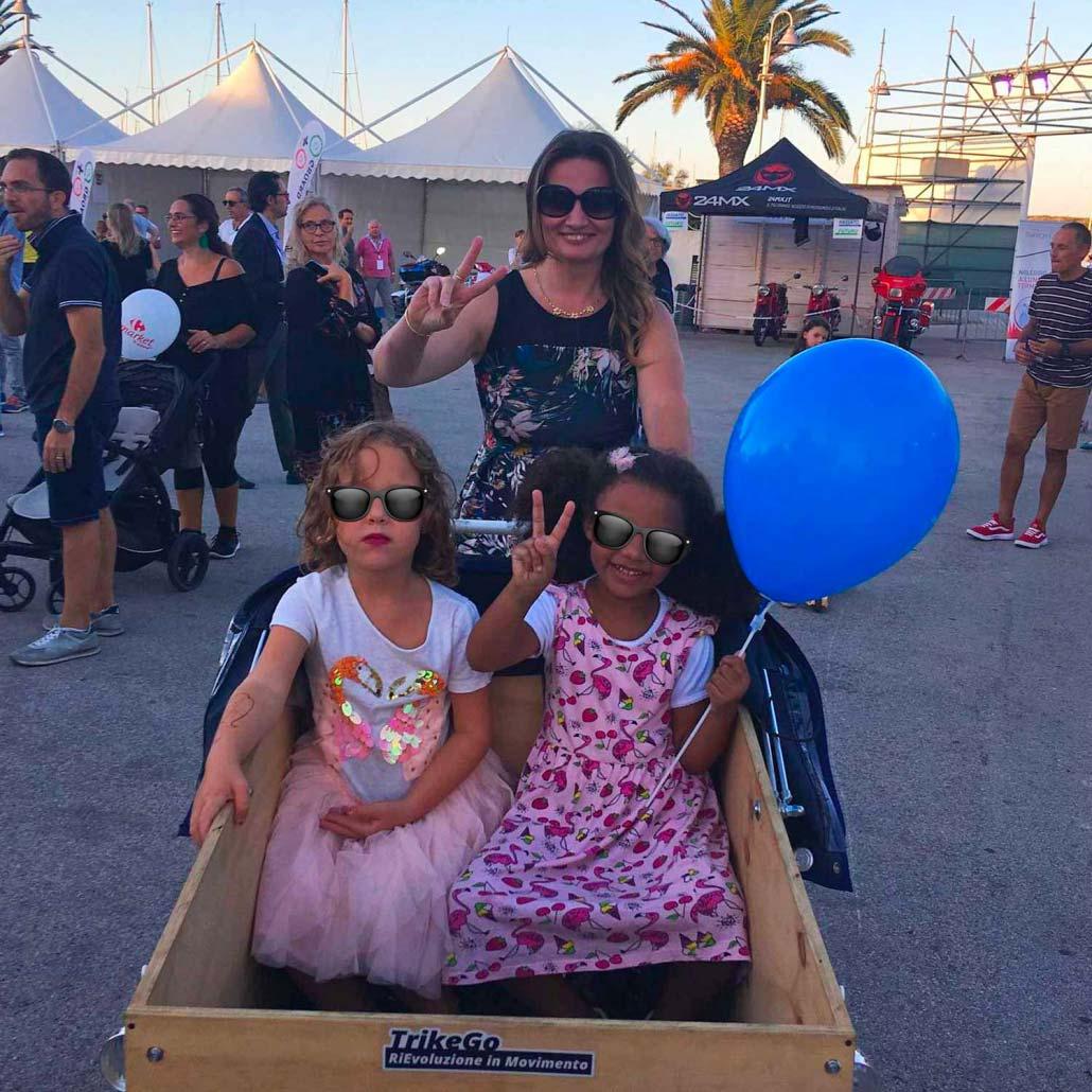 Cargo Bike TrikeGo Bambini Rievoluzione In Movimento
