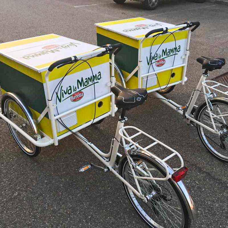 Cargo Bike TrikeGo Beretta W LA MAMMA