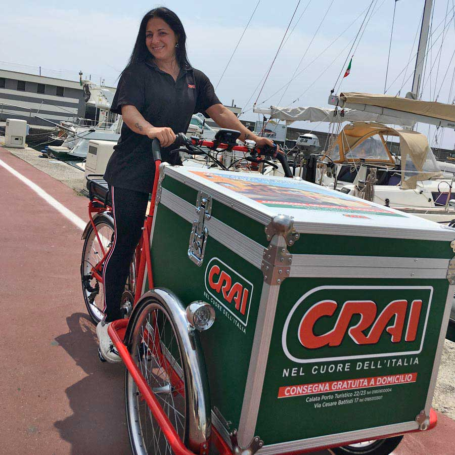 Cargo Bike TrikeGo CRAI Consegna Gratuita Sardegna