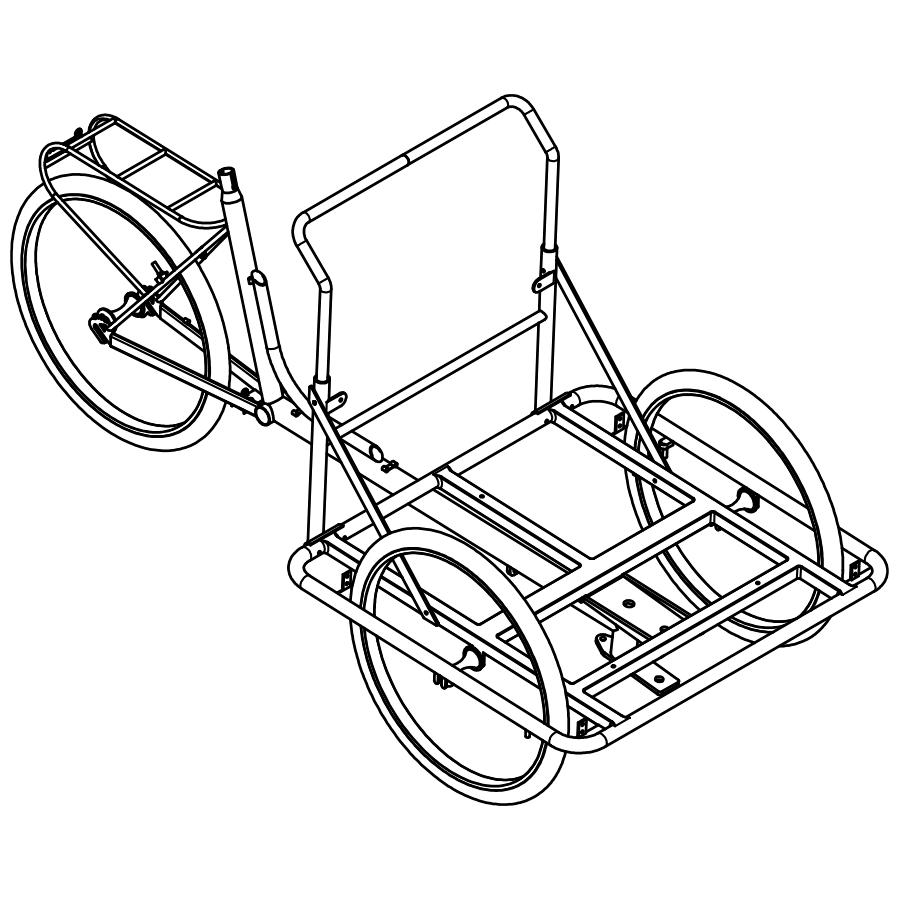 Cargo Bike TrikeGo ISO BN