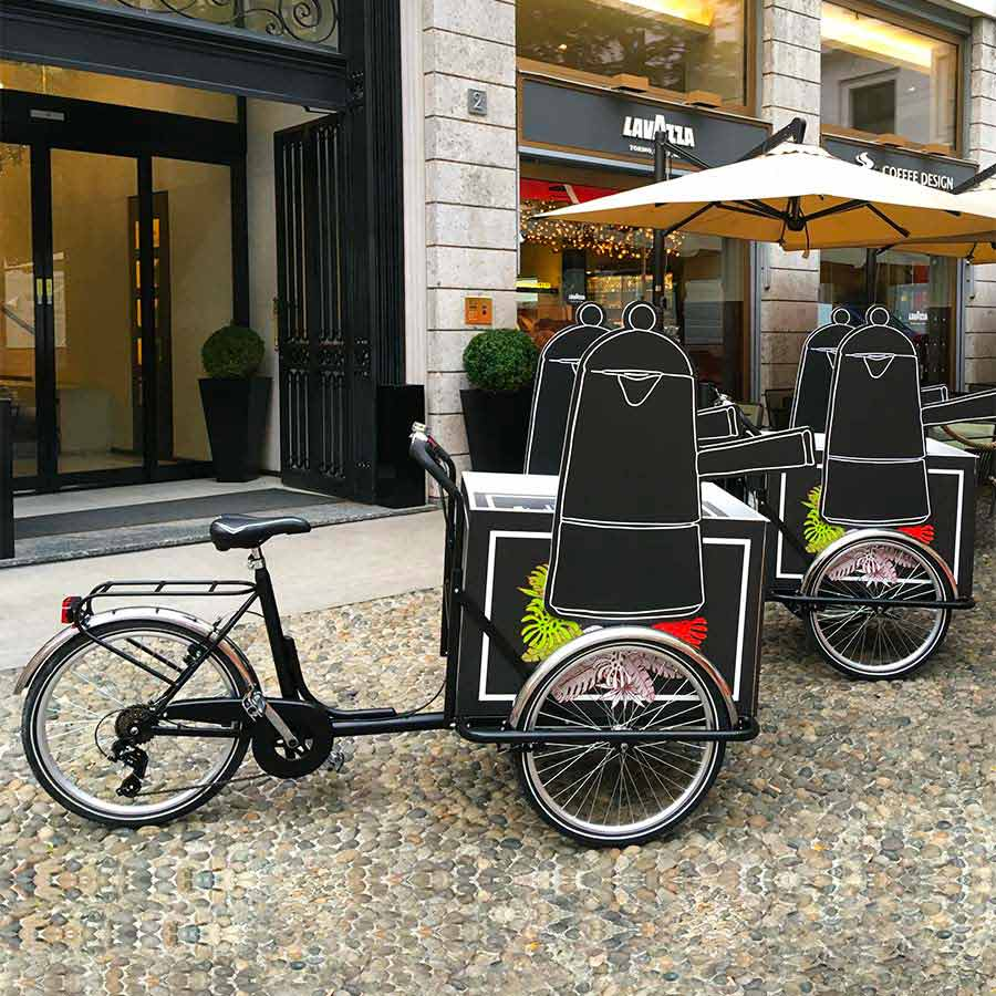 Cargo Bike TrikeGo Noleggio Lavazza