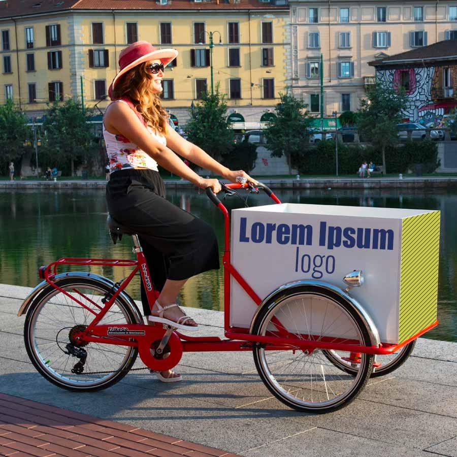 Cargo Bike TrikeGo Noleggio Stile TrikeGo Lorem Ipsum