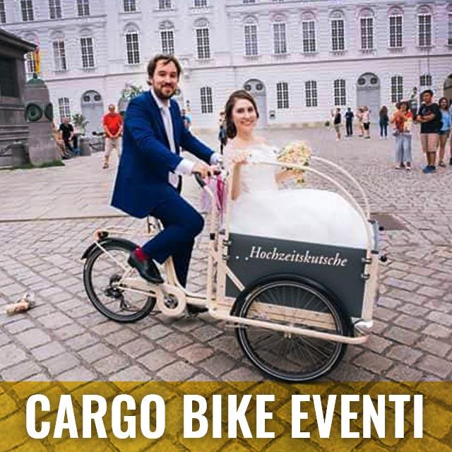 Cargo Bike TrikeGo PULSANTE CARGO BIKE EVENTI E MANIFESTAZIONI