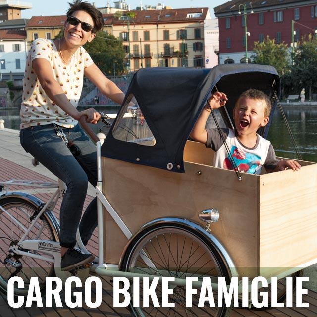 Pagina Faq Cargo Bike per Famiglie