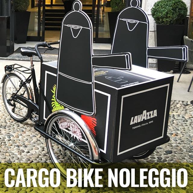 Cargo Bike TrikeGo PULSANTE CARGO BIKE NOLEGGIO