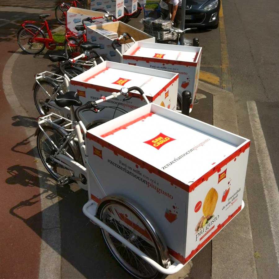 Evento con Cargo Bike per San Carlo