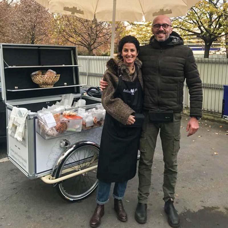 Cargo Bike TrikeGo Per Lavorare ATELIER DU PAIN