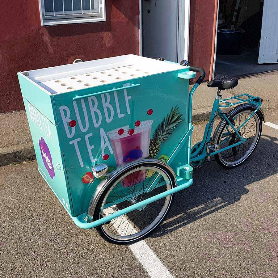 Cargo Bike TrikeGo Per Lavorare BUBBLF TEA