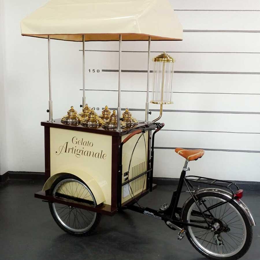 Cargo Bike TrikeGo Per Lavorare GELATO ARTIGIANALE