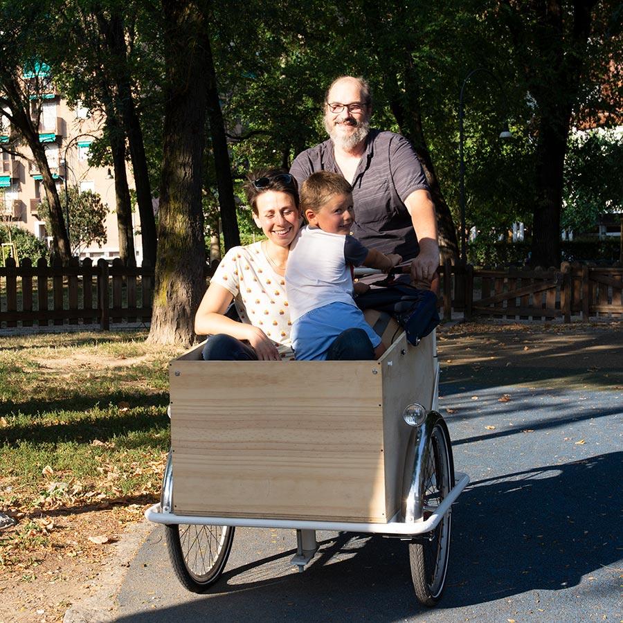 Cargo Bike TrikeGo Per famiglie