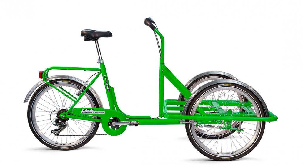 Cargo Bike Verde - Solo Telaio