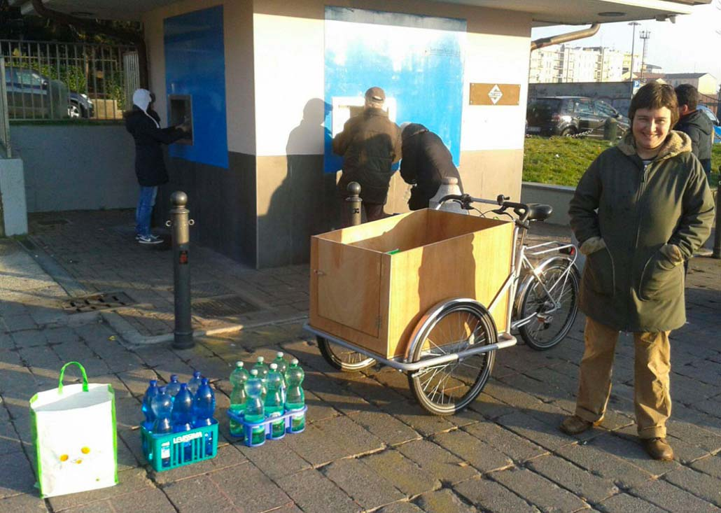 Cargo Bike TrikeGo Spesa Carico Acqua Sorriso