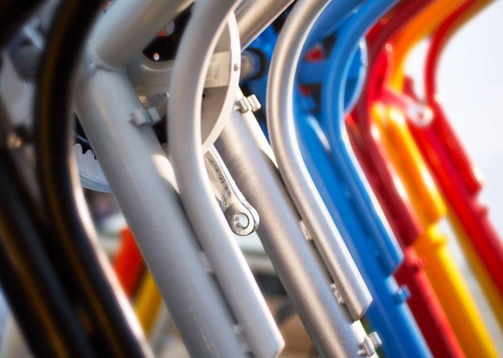 Cargo Bike TrikeGo Telai Nero Grigio Blu