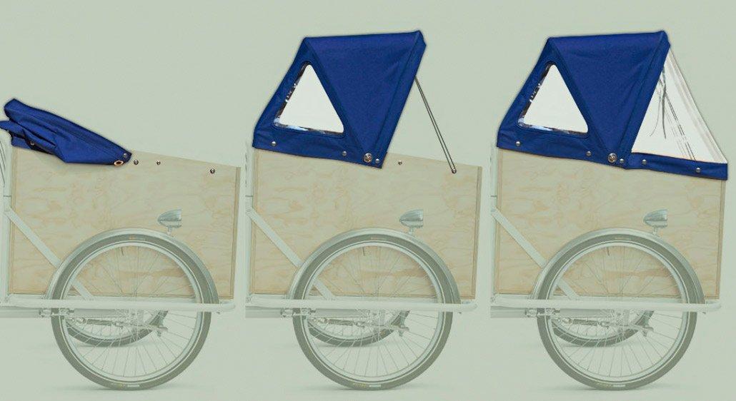 Capote Blu per Cargo Bike