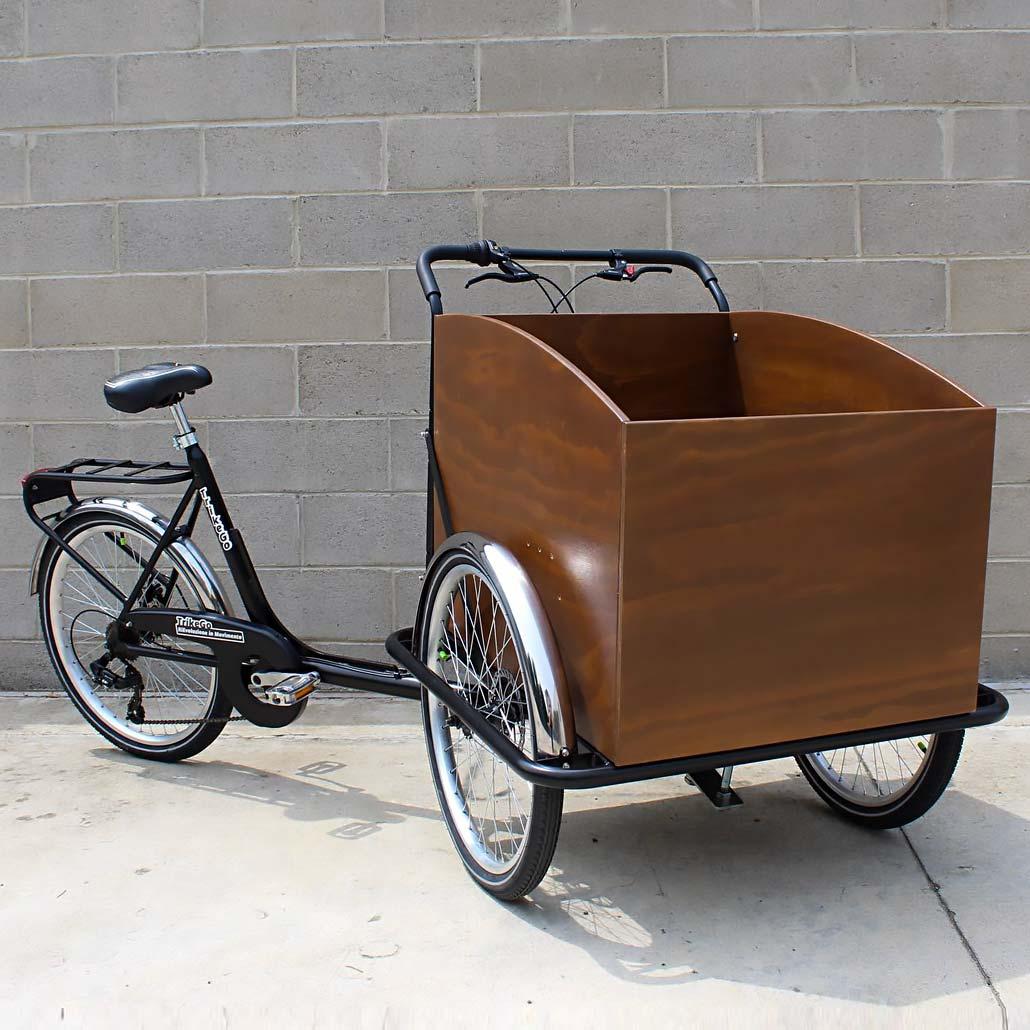 Cargo Bike TrikeGo con Ferrari Legno SNC