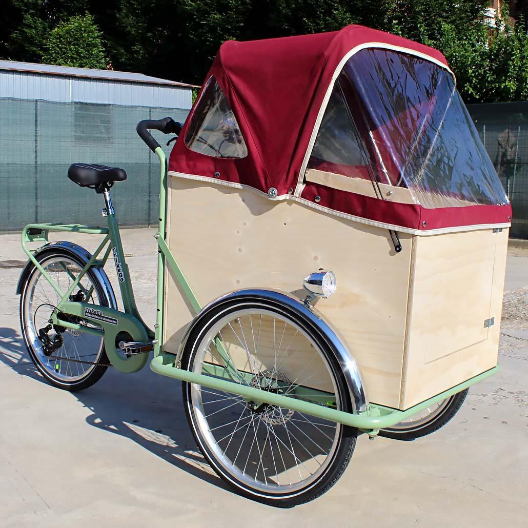 Cargo Bike TrikeGo con Hertel Teli