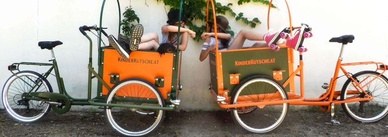 Cargo Bike TrikeGo Famiglia Europa Austria