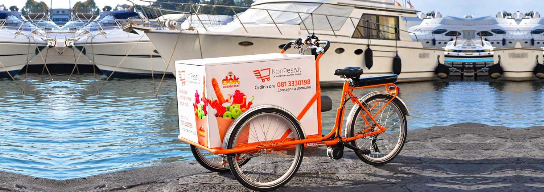 Cargo Bike TrikeGo Lavoro Yacht Mare Noleggio