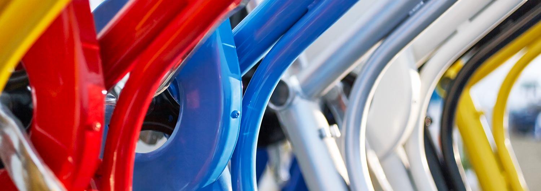 Cargo Bike TrikeGo Telai - alcuni colori
