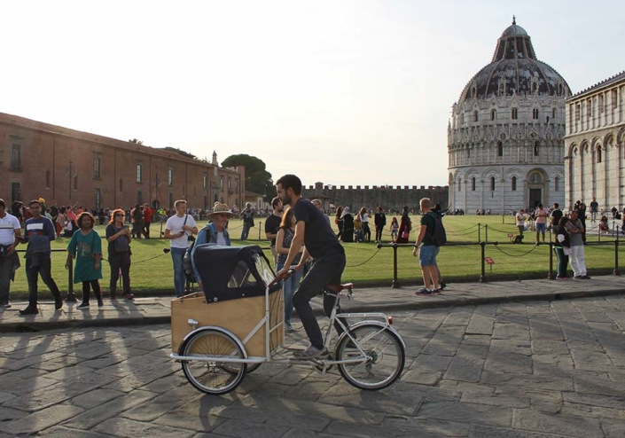 TrikeGo Cargo Bike Pisa Battistero Piazza dei Miracoli