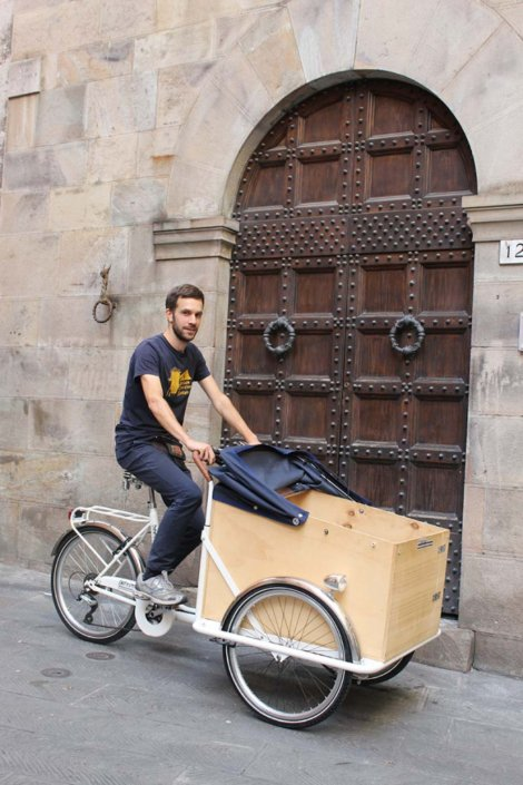 TrikeGo Cargo Bike Pisa Portone Storico