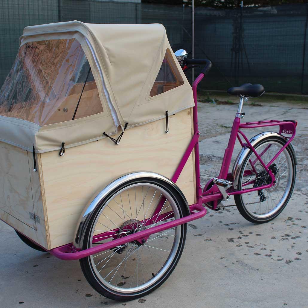 Cargobike per Trasporto Bambini
