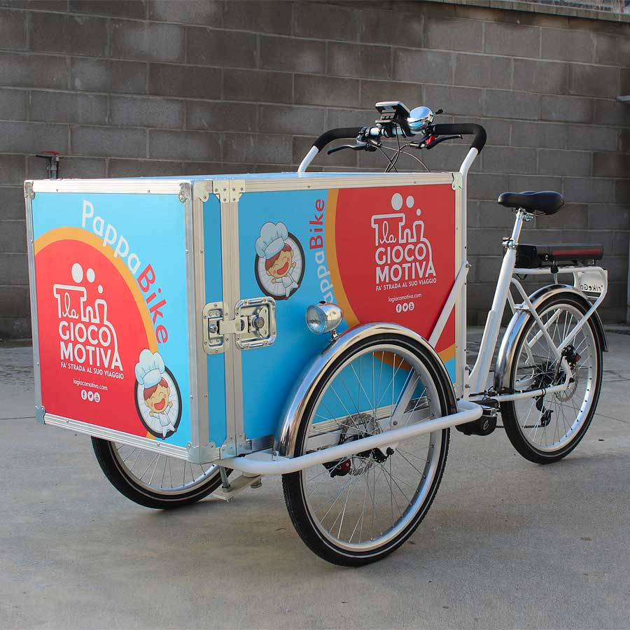 Cargo Bike TrikeGo La Gioco Motiva
