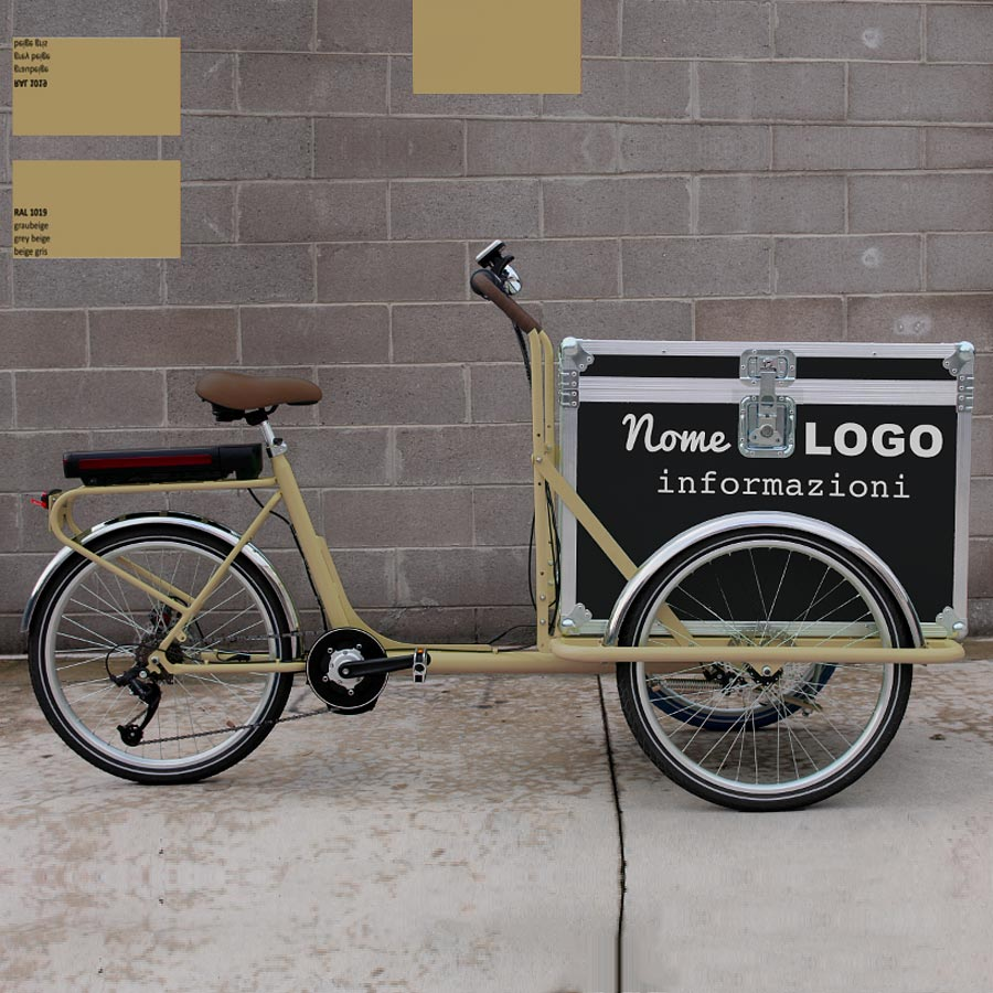 Cargo Bike TrikeGo Noleggio NOME LOGO INFO