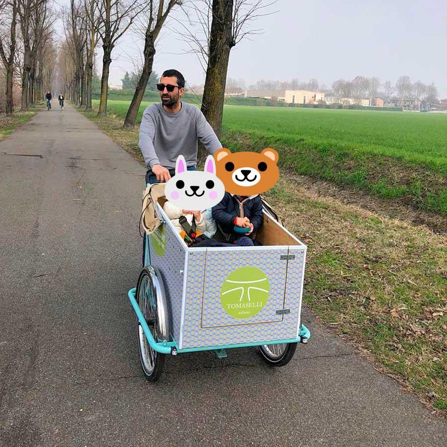 Cargo Bike TrikeGo Noleggio Orsetti